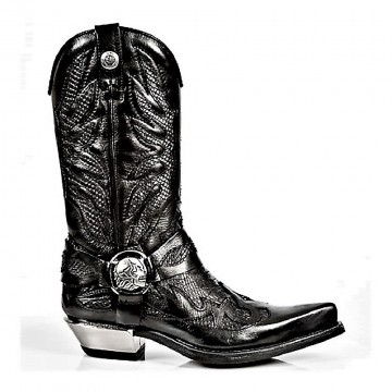 Patterned Boots WEST M.7991-S2