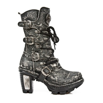 Distressed Leather Boots NEOTRAIL