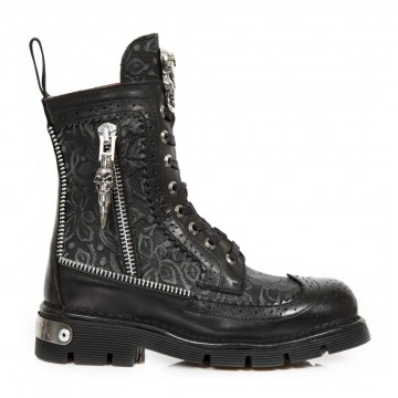 Lacing Retro Boots NEWMILI