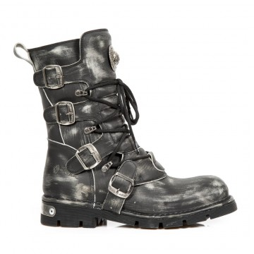Scraped Effect Boots COMFORT-LIGHT