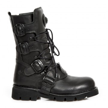 Black Boots COMFORT-LIGHT M.1473-S49