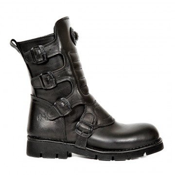 Black Wild Boots COMFORT LIGHT M.373X-S6