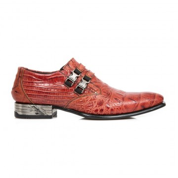 Red Crocodile Shoes VIP
