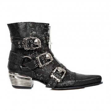 Metal Buckles Boots DALLAS M.WST062-S1