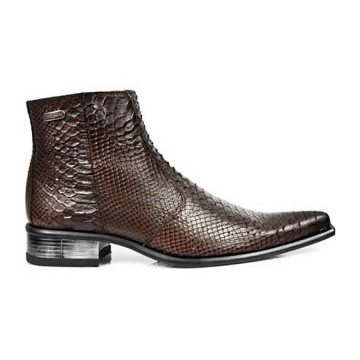 Brown Ankle Boots NEWMAN