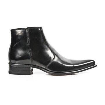 Black Ankle Boots NEWMAN