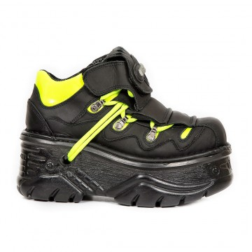Black Yellow Shoes TURBO