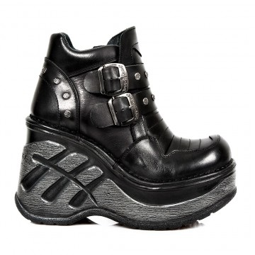 Black Ankle Boots NEO CUNA SPORT M.SP9814-S1
