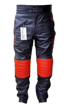 Armor Leather Pants (red)