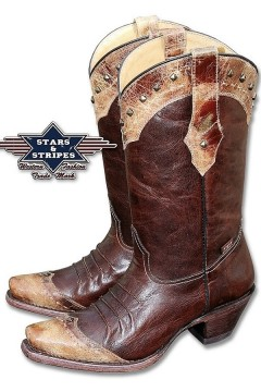 Women's Western Boots (brown)