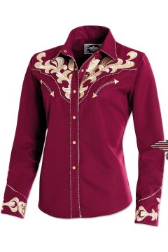 Women's Blouse Sara (red)