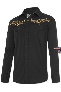 Men's Shirt Durango (black)