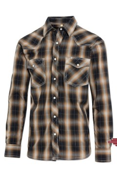 Men's Shirt Tanner (brown)