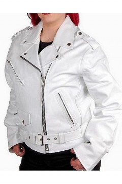 Women's Retro Leather Jacket