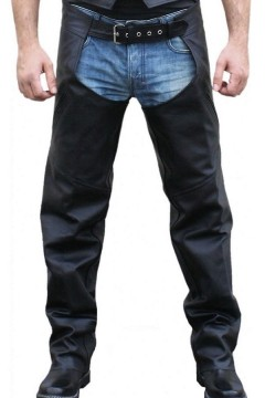 Leather Chaps (black)