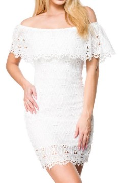 Lace Dress (white)