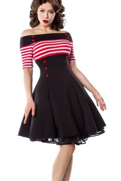 Vintage Rockabilly Dress (black)