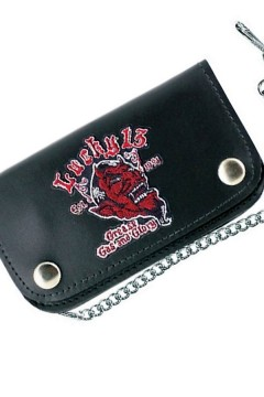 Leather Wallet GGG (black)