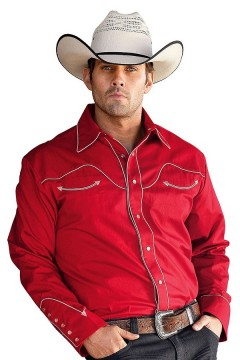 Men's Shirt Jack (red)