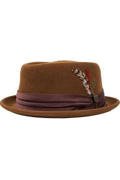 Hat Stout Pork Pie (brown)