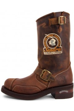 Sendra Biker Boots Steel (brown)