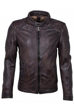 Men's Leather Jacket Cave (brown)