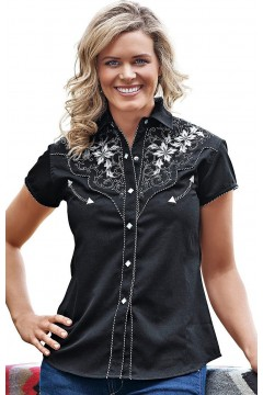 Women's Blouse Isabel (black)