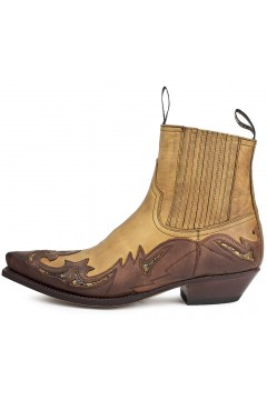 Sendra Cowboy Ankle Boots Cuervo (brown)