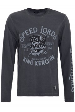 Men Shirt Speed Lords (anthracite)