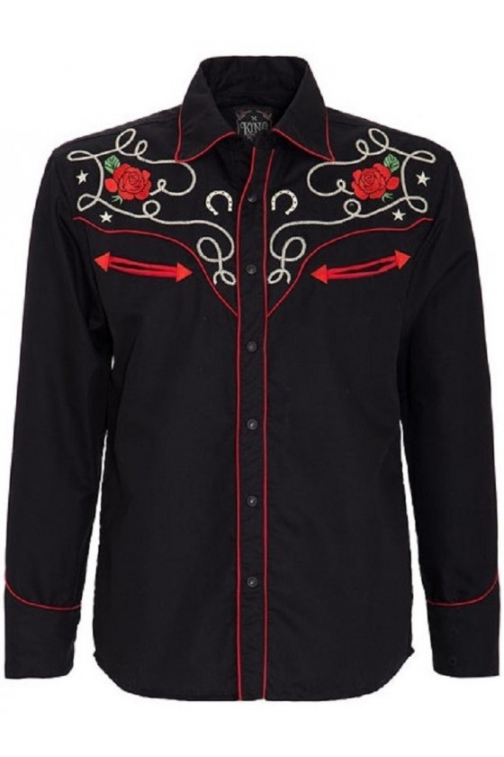 Men Shirt Mexican (black)