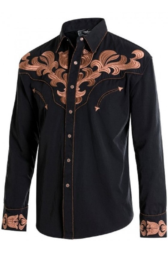 Men's Shirt Harvey (black)