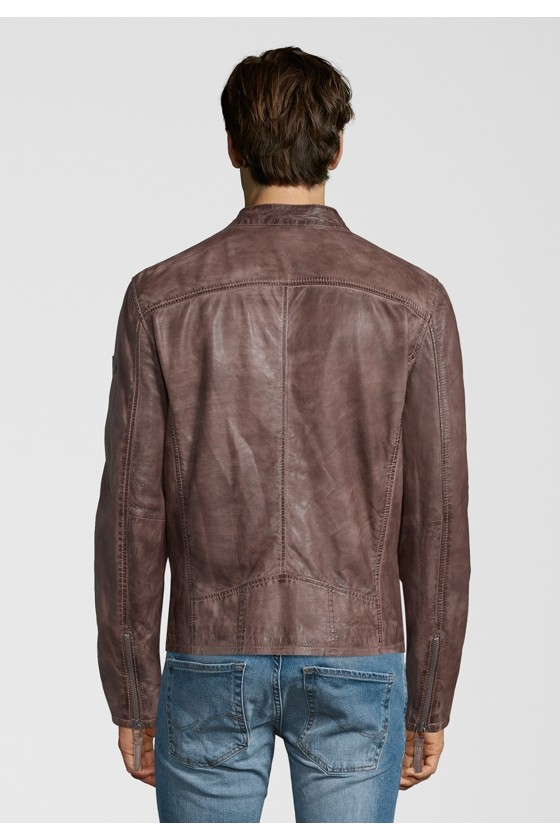 Leather Jacket Barny (brown)