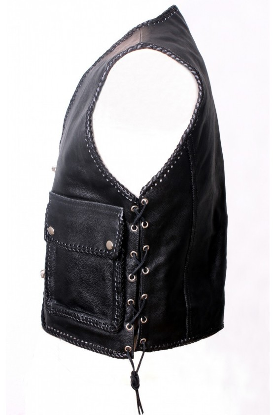 Carbines Leather Vest