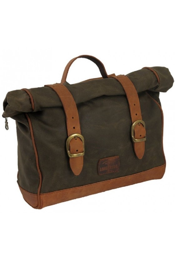 Retro Saddlebag Longride (olive)