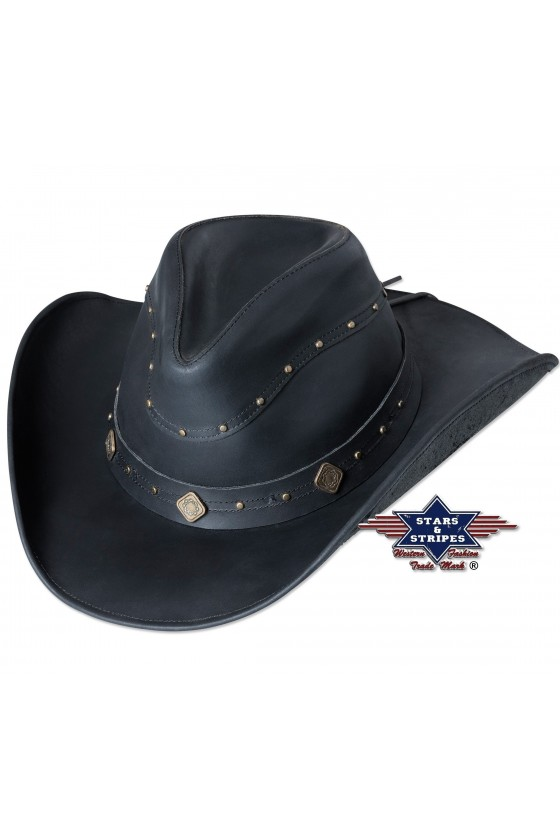 Leather Western Hat Dundee