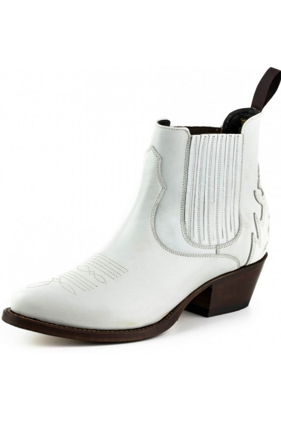 WOMEN'S ANKLE BOOTS MARILYN (white)