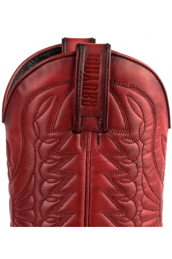 LEATHER COWBOY BOOTS 1920 (red)