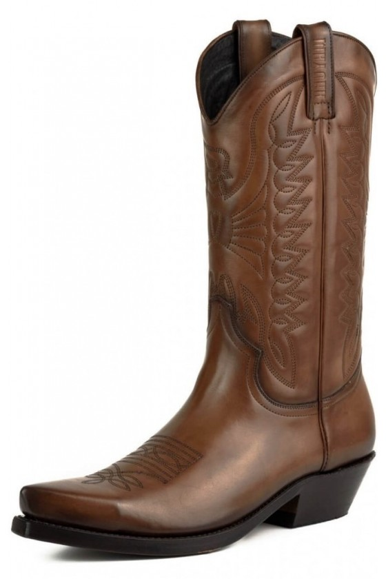 LEATHER COWBOY BOOTS 1920 (brown)