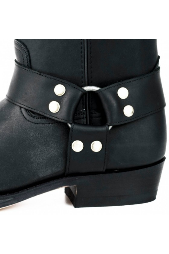 NR.1 LEATHER BOOTS (black)