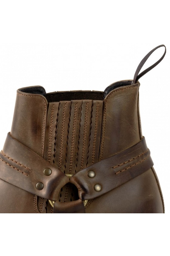 NR.1 LEATHER ANKLE BOOTS (brown)