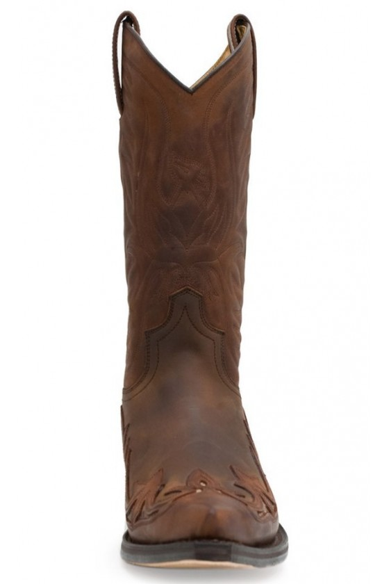COWBOY BOOTS CUERVO (brown/with python)