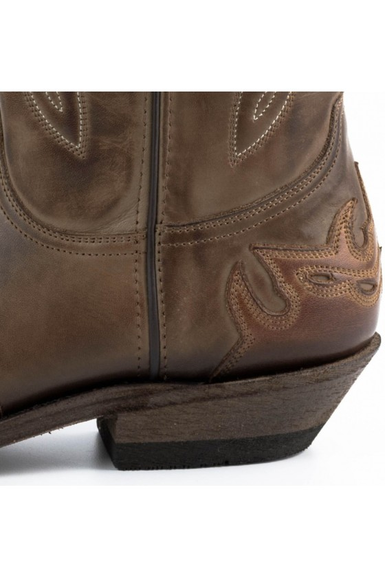 CRAZY OLD COWBOY BOOTS II (brown/taupe)