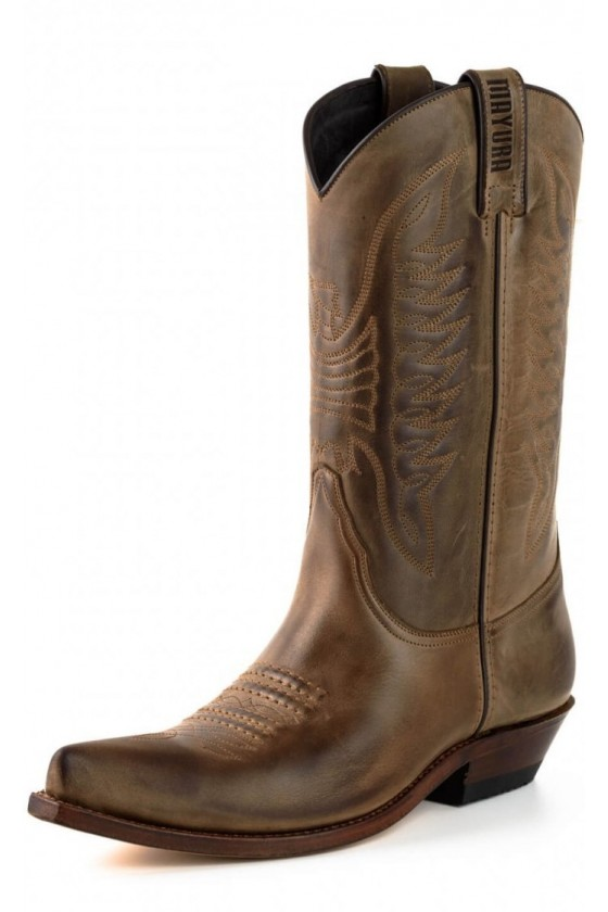 CRAZY OLD COWBOY BOOTS I (brown)