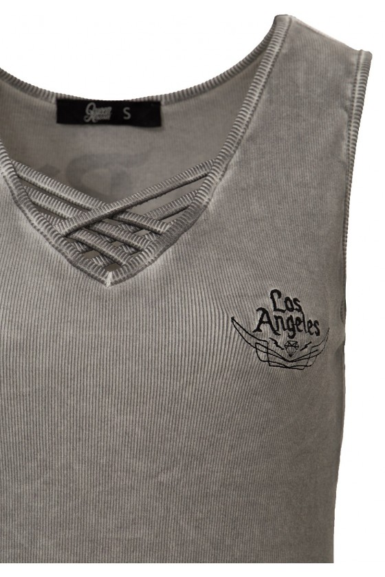 WOMEN'S TOP NO BIKE NO RIDE (grey)