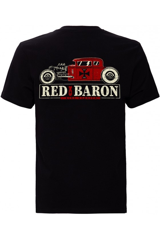 Men T-Shirt Red Baron (black)