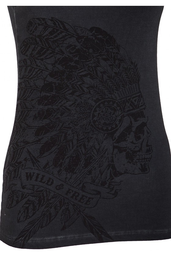 WOMEN'S TOP WILD & FREE (anthracite)