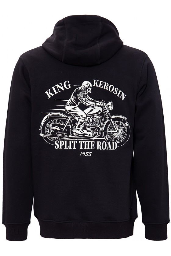 Hoodie Split the Road (black)
