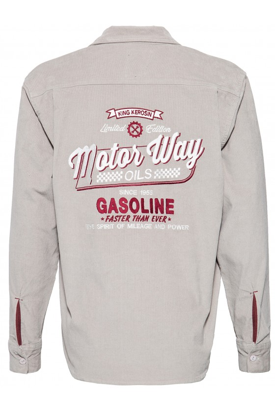 Worker Shirt Motor Way (grey)