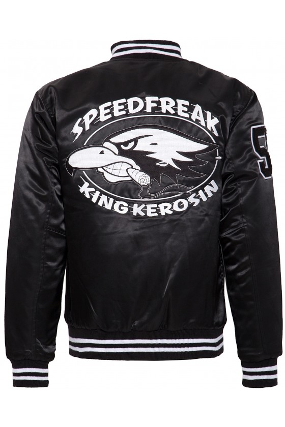Speedfreak College Lined Jacket (black)