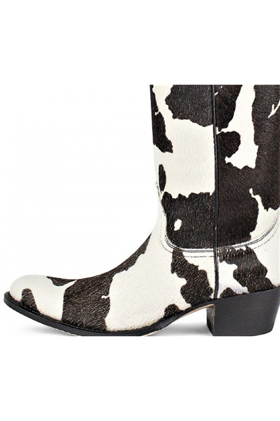 LONG SHAFT BOOTS TORITO (white/brown)